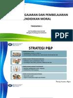 Strategi p&p Pendidikan Moral