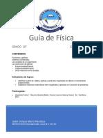 Guía 2-1 Física 10°