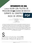 4 Comportamiento de una cimentacion con pilotes de friccion en la ciudad de Mexico durante su construccion e inicio de operacion.pdf