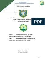 Monografia Sistema Electoral