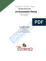 Micro Economy(BA II)