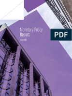 Monetary Policy Report July 2018