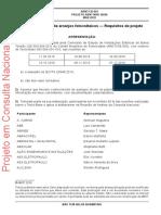 NBR 16690 - Instalações Elétricas de Arranjos Fotovoltaicos (CONSLUTA PÚBLICA NACIONAL)
