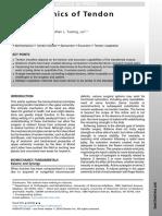 Biomechanics of Tendon Transfers