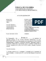 Acta de Liquidacion Zarabrain Pto Colombia via Malecon
