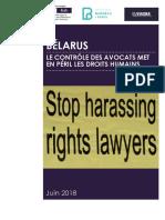 """FIDH-Barreau de Paris-Viasna report """"Belarus"""