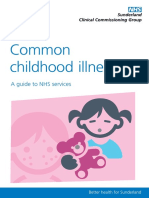 Sunderland CCG Common Childhood Illnesses Web Version