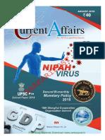 Currant Affairs August 2018 )