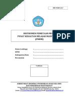 Instrumen Pemetaan Mutu PKBM