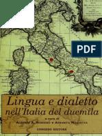Lingua e dialetto nell'Italia del 2000 - Sobrero, Miglietta