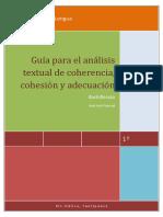 Esquema Coherencia Cohesion Adecuacion Pascual