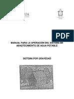 Manual de Operación de Agua Potable - Sistema Por Gravedad