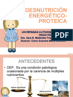 DESNUTRICIÓN ENERGETICA-PROTEICA