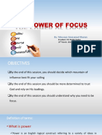 The Power of Focus Part2