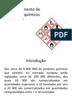 Manuseamento de Produtos Químicos
