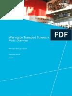 Warrington Transport Summary 2017