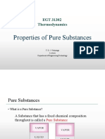 Properties of Pure Substances