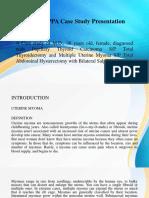 Ward II - Ppa Case Study Ppt