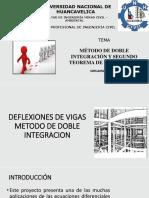análisis estructural método de doble integral