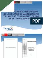 Presentacion_importancia Planes de Equip y Mantt_diem