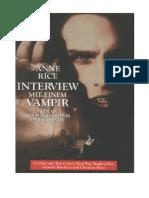 Interview Mit Einem Vampir Rice
