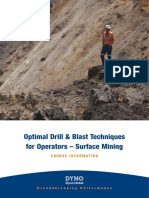 Optimal Drill Blast - Surface Mining