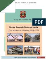Plan de Desarrollo Local Concertado Del Distrito El Porvenir 2015-2021