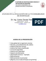 Zavala AvancesVulnerabilidadHospitales