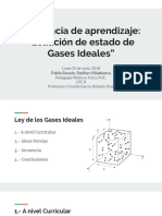 Secuencia_Ecuacion Gas Ideal