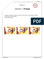 3-Aula 001 Nylon - Tecnica 2 - Exercicio 1_Polegar