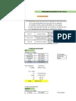 pre dimensionamiento de elementos estructurales de concreto armado