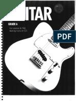 Rockschool Guitar Grade 6