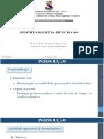 Apresentação Estatística Descritiva Python
