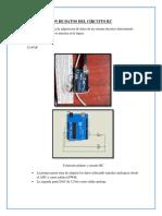 Adquisicion de Datos Del Circuito Rc