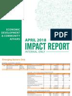 APRIL INVESTMENT REPORT
