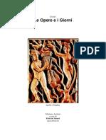 w Esiodo-Le Opere E I Giorni