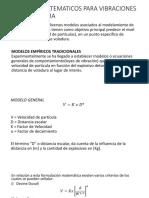 Modelos Matematicos Para Vibraciones Por Voladura