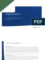 2018.07.11 - ANGO 4Q18 Earnings Slides - FINAL