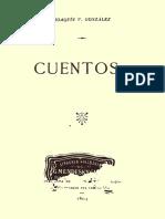 Gonzalez, Joaquín v. - Cuentos