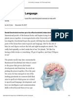 The Genetics of Language - MIT Technology Review