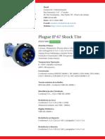 Plugue IP 67 Shock Tite - S3576W