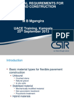 Material Requirements Training for UACE