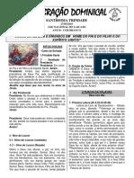 Folheto 27 de Maio de 2018 Santíssima Trindade