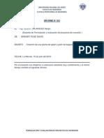 Informe de Inversion de Proyectos EmpresariLES
