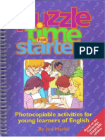 Puzzle Time for Starters by Jon Marks (1)