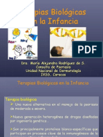 Terapias Biologicas Psoriasis Pediatria