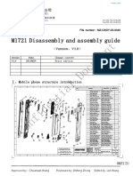 M6note_M1721 Disassembly and Assembly Guide