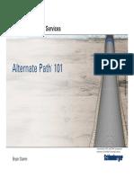 22 Alternate Path Technology Sergio Aguilar
