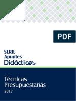 Técnicas Presupuestarias 2017