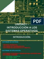 Unidad I - Introduccion a Los SO